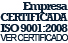 Empresa certificada ISO 9001: 2008